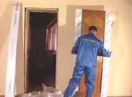 Установка межкомнатных дверей 2