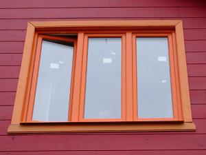 покраска окна